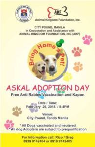 Adoption poster for As