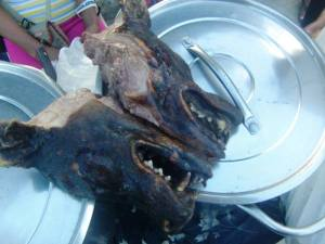 Dog heat blow-torched and sold in Tuguegarao City