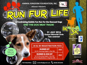 Run Fur Life Official Poster
